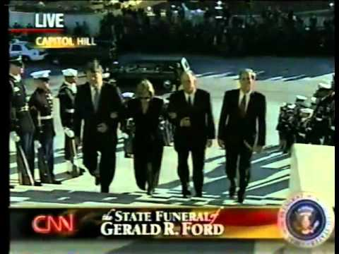 National Funeral Service of President Gerald R. Ford CNN Coverage  1-2-2007