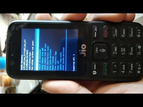 Jio 4G Phone Hard Reset F81E |Tech Video|