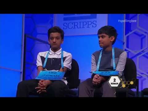 Karma gets you at the Spelling Bee
