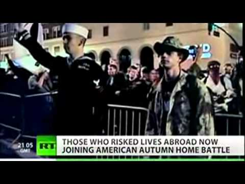 Now US MILITARY Supports Occupy Wallstreet