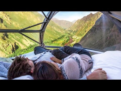 You Have To Climb Two Hours To Sleep In This Hotel