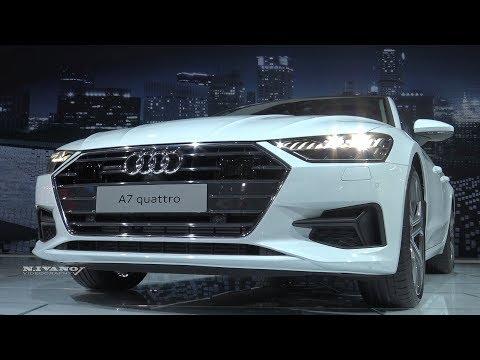 2019 Audi A7 - Exterior And Interior Walkaround - 2018 Detroit Auto Show