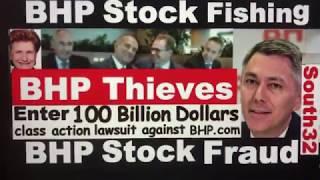 100 Billion Dollars class action lawsuit South32 Suing BHP