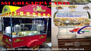 Golgappa & Chaat Counter made by Sai Structures India// PANI-PURI#CHAT/#CARTS manufacturer in delhi