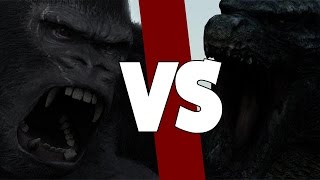GODZILLA (2014) VS KING KONG (2005)