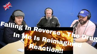 """Falling In Reverse - """"The Drug In Me Is Reimagined"""" REACTION!!   OFFICE BLOKES REACT!!"""