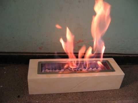 Chimenea con etanol de chimeneas armon a youtube - Chimeneas de biotanol ...