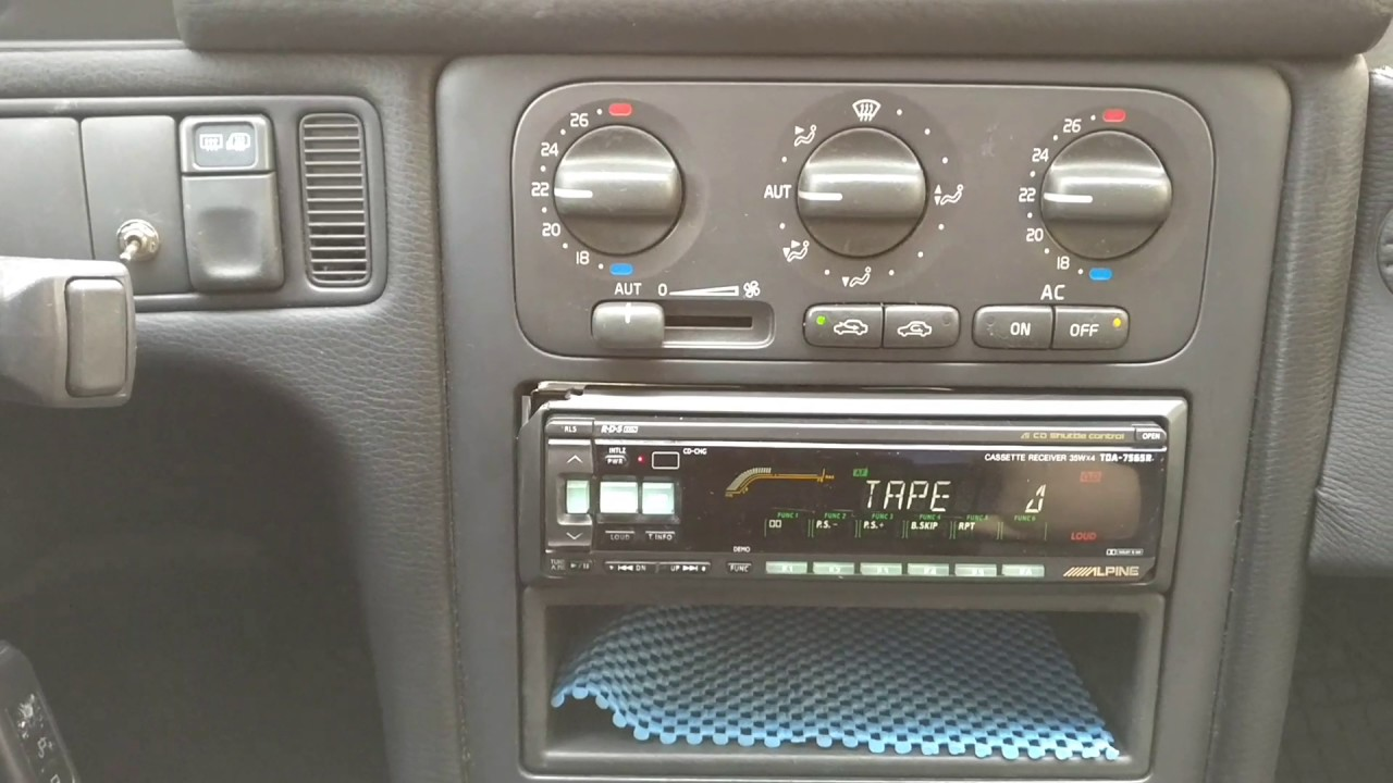 small resolution of aux input on old alpine head units