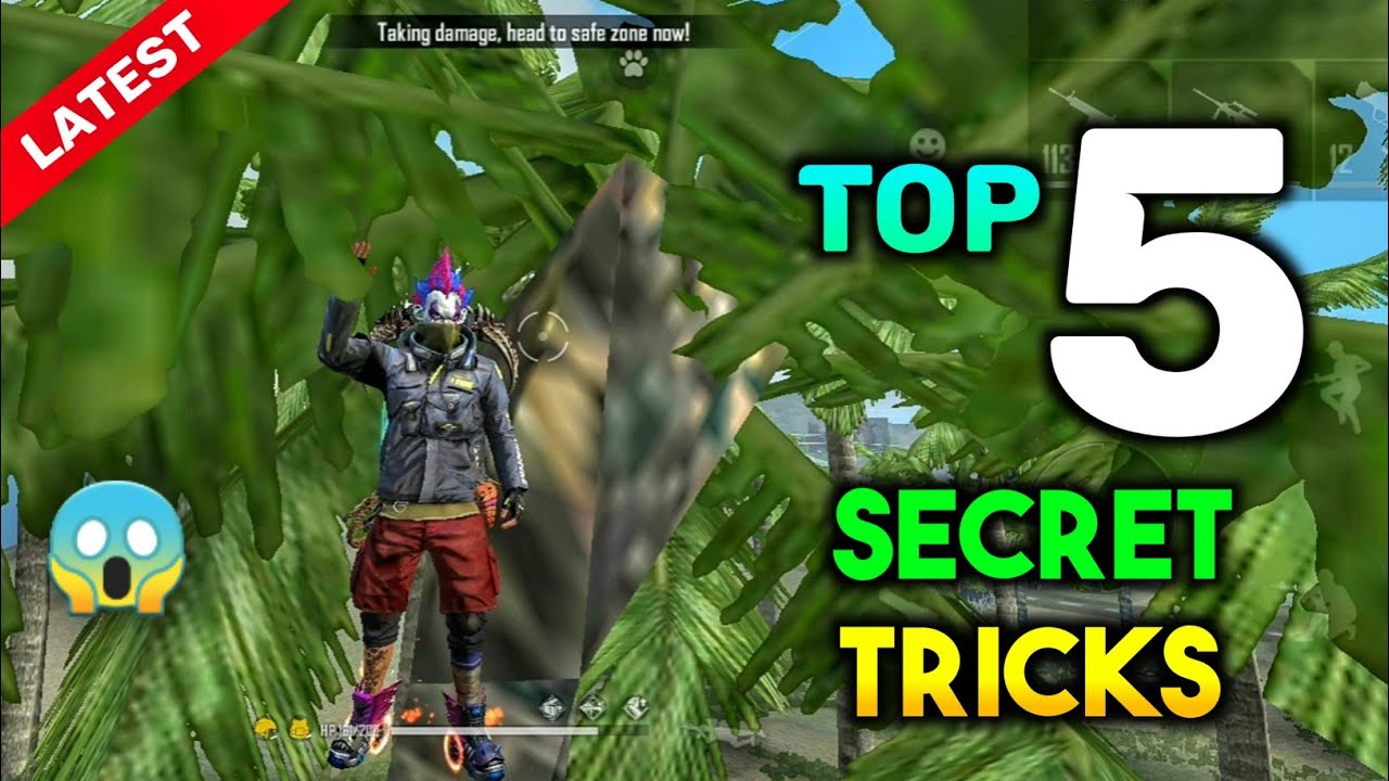 TOP 5 NEW TRICKS IN GARENA FREE FIRE || FREE FIRE LATEST TRICKS  #6