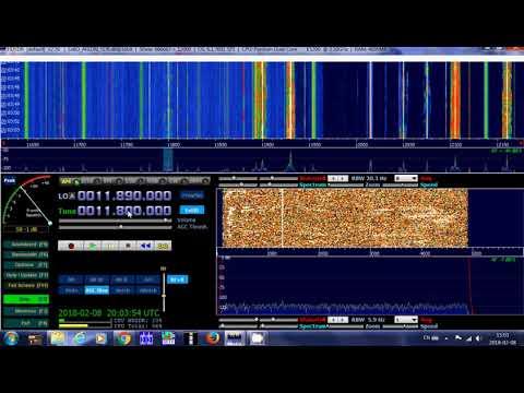 AWR Adventist World Radio French via South Africa Relay 11800 Khz Shortwave