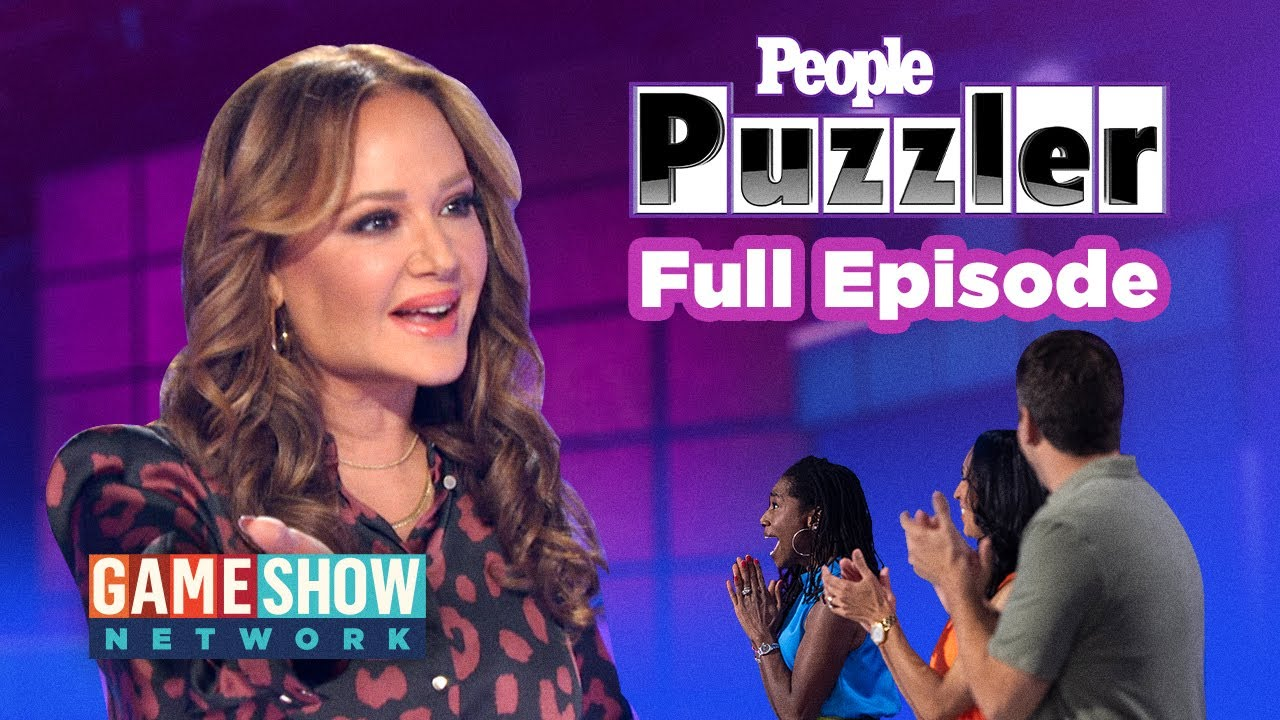 Download FULL EPISODE   People Puzzler: Leah Remini And a Chance To Win $10,000   Game Show Network