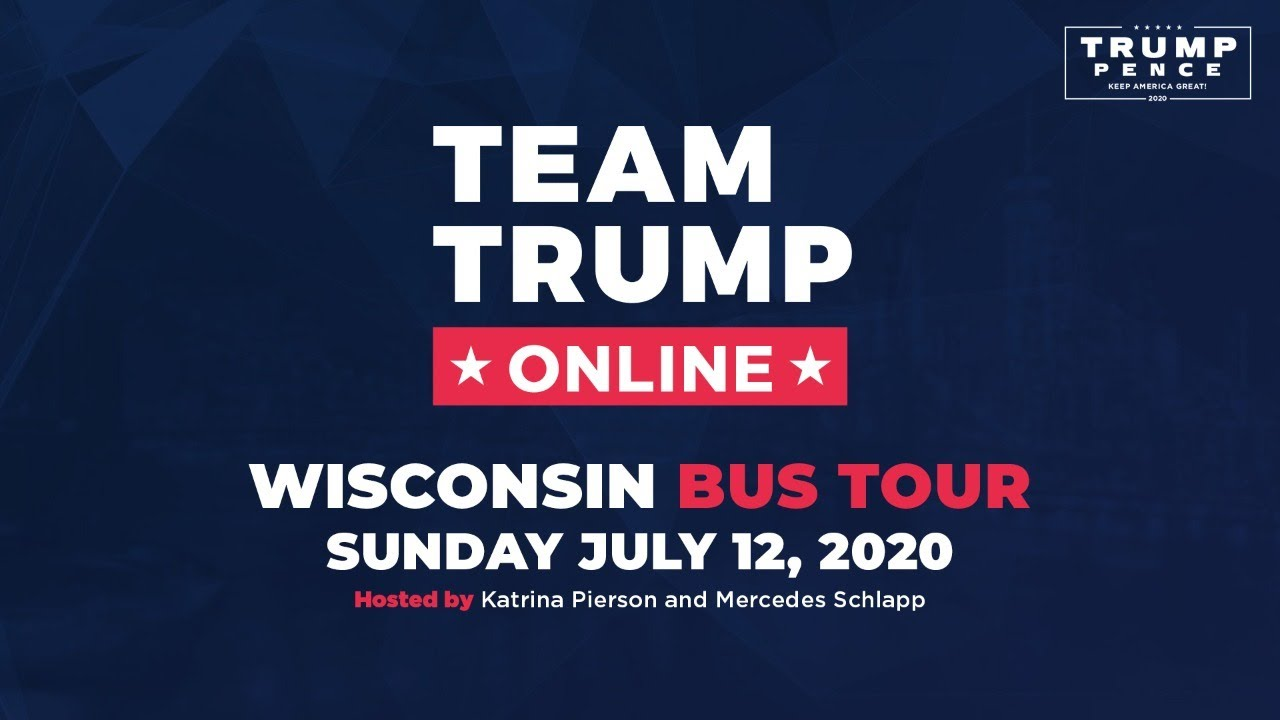 WATCH: Women for Trump: Wisconsin Bus Tour with Mercedes Schlapp and Katrina Pierson!
