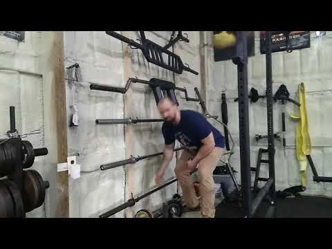 DIY Barbell Storage Rack