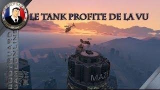 Gta 5 Le Tank Profite De La Vu De La Tour Burj Khalifa Pour Faire Feu Sur La Police