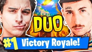 ANIMA E SAMUEL HERON! DUO LEGGENDARIO CON VITTORIA REALE! Fortnite Battle Royale