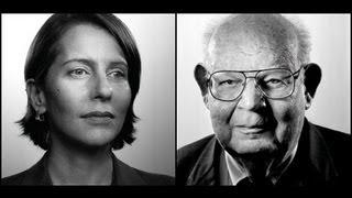 Benoit Mandelbrot and Paola Antonelli