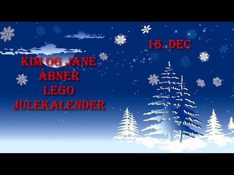 Kim Og Jane Åbner Lego Julekalender | 16. December