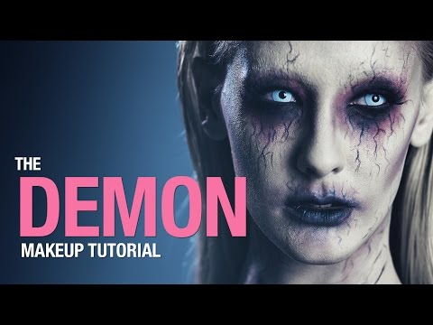 Demon makeup tutorial