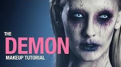 Demon makeup tutorial