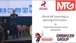 Week 44 Investing in gaming and esport