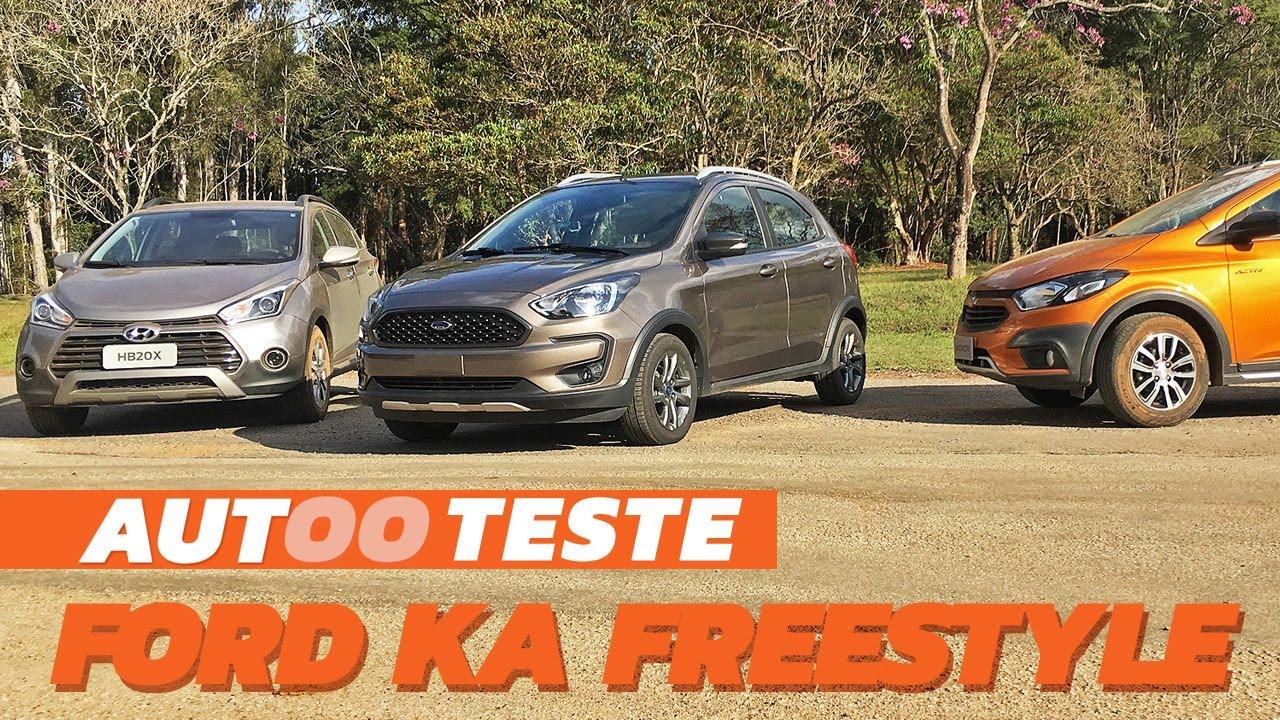 Ford Ka Freestyle Encara Os Aventureiros Onix Activ E O Hbx
