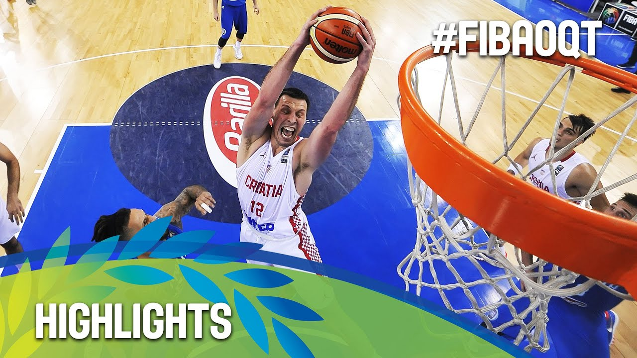 Croatia v Italy - Highlights - Final - 2016 FIBA Olympic Qualifying Tournament