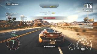 Need For Speed: Rivals PC - Grand Tour 8:37.30 - Fully Upgraded Mclaren P1