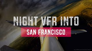 How to fly VFR into a Class Bravo at night