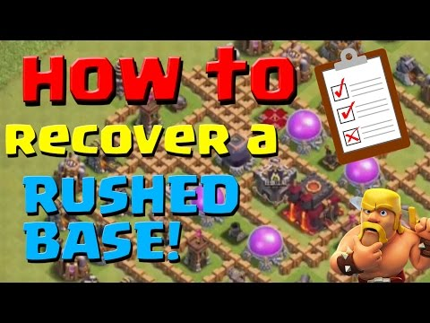 Clash Of Clans: How To Recover From A Rushed Base | Farming & Upgrade Guide