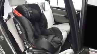 Einbau von Kindersitz Saturn I-Fix mit Isofix System von LCPKids