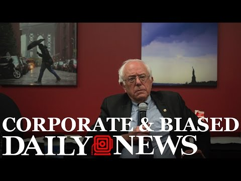 Incredibly Biased New York Daily News Interview With Bernie Sanders