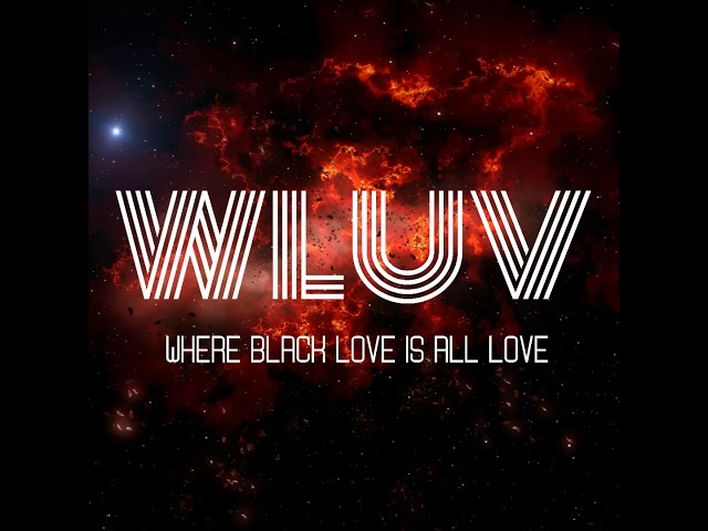 WLUV Radio Station on Black Love Poetry Series