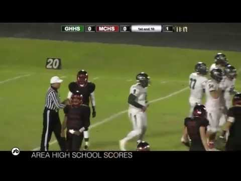 Green Hope vs MCHS Football 10-30-2015