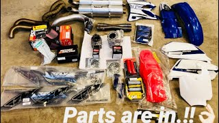 Update yz85/cr85/cr250/rzr1000 parts are in.!!