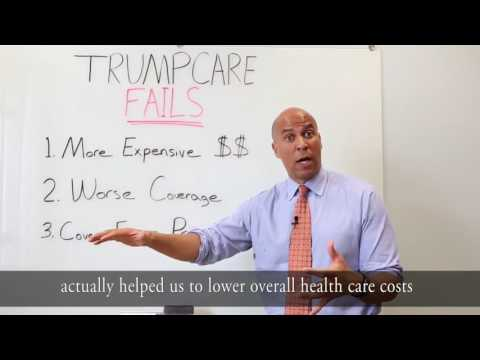 Sen Cory Booker Breaks Down Everything Wrong With #Trumpcare
