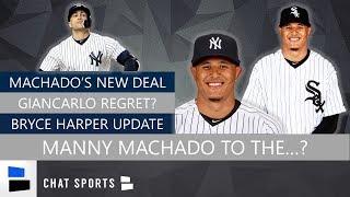 New York Yankees Rumors: Manny Machado 2019, Bryce Harper MLB Free Agency, Giancarlo Stanton Regret