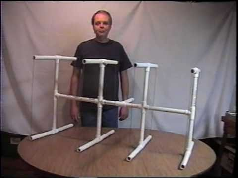 2 Meter Quad PVC Pipe Antenna Part 16  YouTube