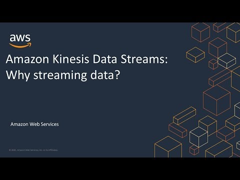 Amazon Kinesis Data Streams: Why Streaming Data?