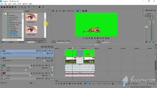 HOW to remove green screen in Sony Vegas- Easy