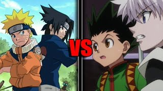 Naruto and Sasuke VS Gon and Killua - Who Would Win?