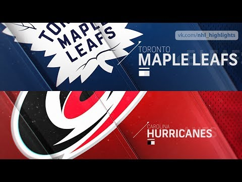 Toronto Maple Leafs vs Carolina Hurricanes Nov 21, 2018 HIGHLIGHTS HD