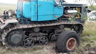 Приспособление для транспортировки гусеничного трактора (Гироскутер)))