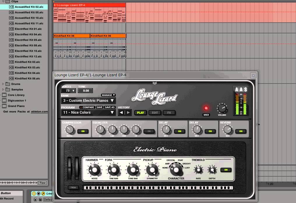 Ableton Live 9 - Neo Soul Chords