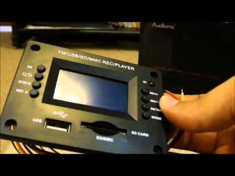 Chinese MP3 Decoder Board Unboxing