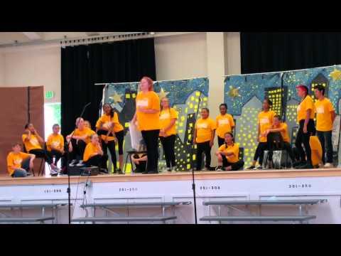 Grange middle school Musical theatre newsies