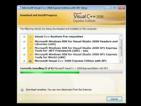 Visual studio c 2008 скачать.