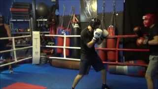 Hardcore Boxing Sparring at Lords Gym, Malta