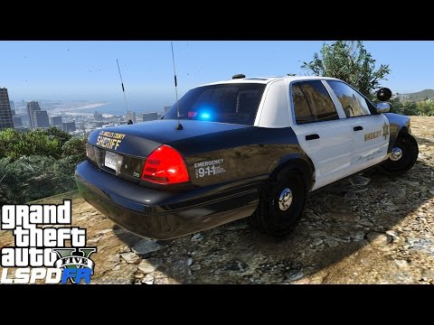 GTA 5 LSPDFR Police Mod 136 | Los Angeles County Sheriff | Gang Violence In Vinewood Hills