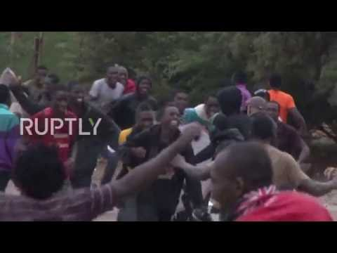 Spain: Scores of refugees successfully break into Spain's Melilla enclave