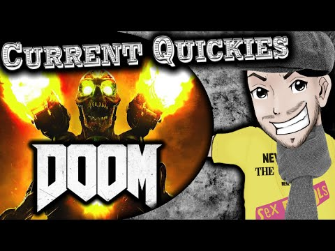DOOM (PS4 Review) - Current Quickies - YouTube